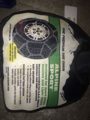 Laclede Alpine Sport Tire Chains 2318 for Sale in Seattle, WA