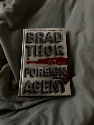 Brad Thor Foreign Agent large print for Sale in Peoria, AZ