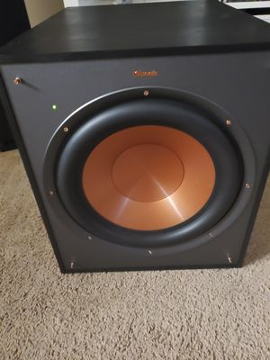 """Klipsch - Reference Series 12"""" 400W Powered Subwoofer - Black for Sale in Orlando, FL"""