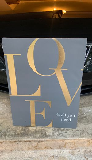 PICTURE Love is all you you need for Sale in Fort Washington, MD