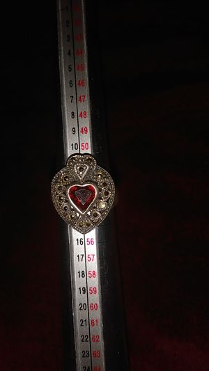 Ruby ring 925 size 6.5 for Sale in Phoenix, AZ