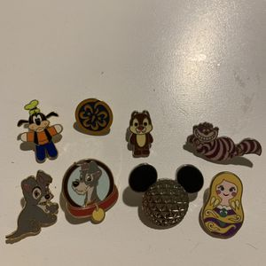8 Disney trading pins various bundle for Sale in Wheeling, IL