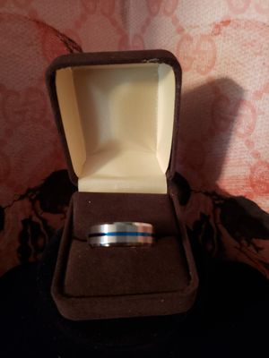 Sz 12 titanium and stainless steel ring.. solid. Will last a lifetime!! for Sale in Meriden, CT