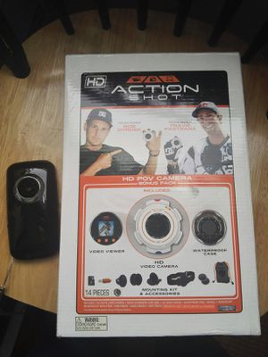 Action spot pov camera hd and digital camcorder for Sale in Columbia, MD