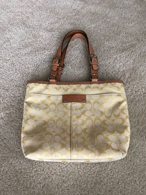 Coach tote bag for Sale in Wilsonville, OR
