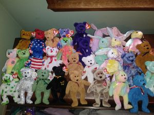 Extremely rare beanie baby collection for Sale in Woodstock, GA