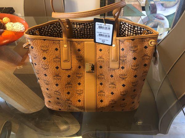MCM Medium Bag with small purse