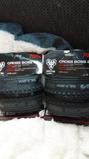 WTB cross boss 700c x 35c tubeless tires cyclecross/gravel for Sale in Hayward, CA