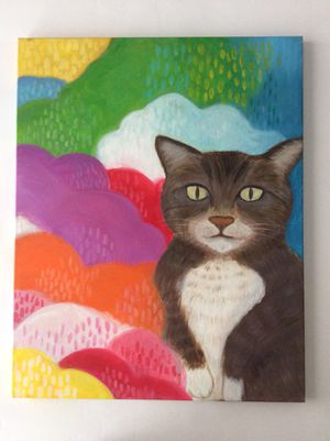 Cat painting for Sale in San Francisco, CA