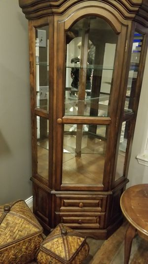 Ashley Furniture curio cabinet for Sale in Ashley, OH