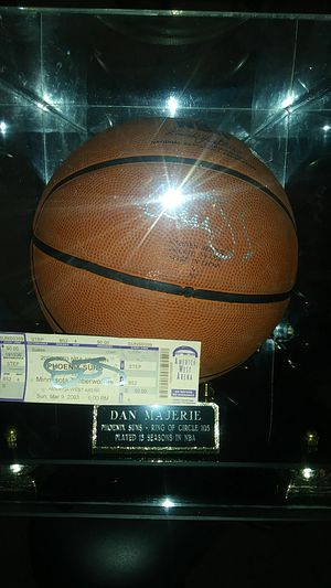 Siged basketball by Dan Majerie for Sale in Las Vegas, NV
