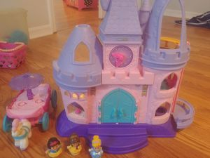 Princess castle with carriage for Sale in Leesburg, FL