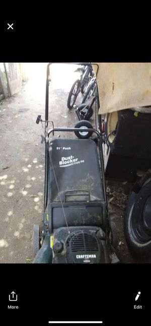 Craftsman lawn mower for Sale in Corona, CA