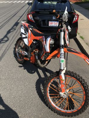 2012 ktm 250f 2 stoke excelente shape (trade) for Sale in Boston, MA