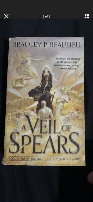 A Veil Of Spears: A Song Of Shattered Sands for Sale in Chicago, IL