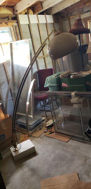 Extending arm floor lamp for Sale in Tampa, FL