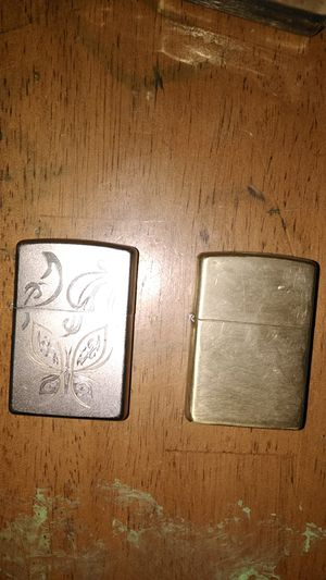 ☺️Zippo lighter 2 for 20 or best offer for Sale in Erie, PA