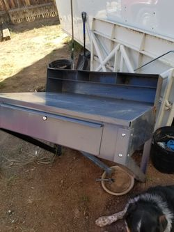 Metal shelving desk for Sale in Santa Fe,  NM