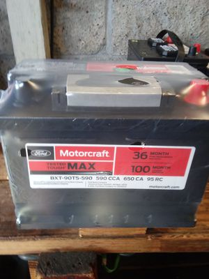New car batteries all sizes start at $50 with old battery trade in for Sale in Los Angeles, CA