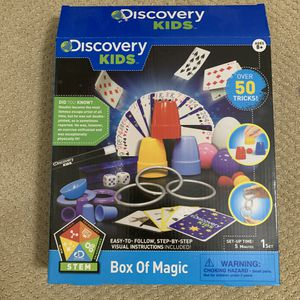 Discovery Kids Box of Magic, Board Game, ages 8+ for Sale in Houston, TX