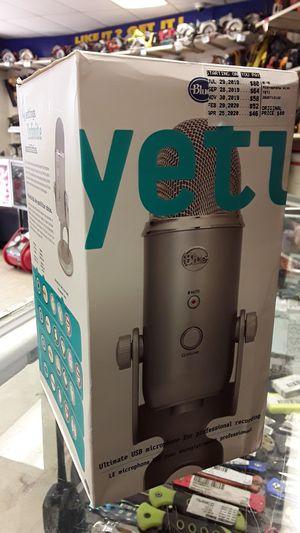 Yeti USB microphone for Sale in Grape Creek, TX