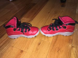 Air Jordan Retro 10's Red, Black, Grey for Sale in Baltimore, MD