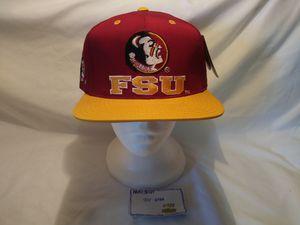 Vintage snapback FSU LOGO 7 HAT Supreme Nikesb for Sale in Miami, FL