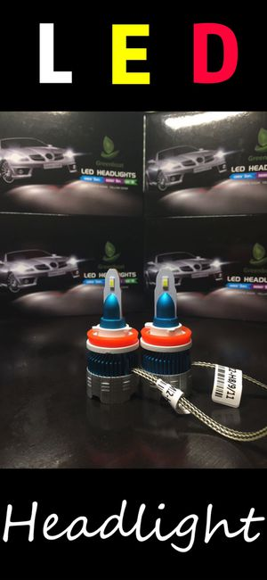 2019 New series H11/H9/H8 76W LED Headlight Conversion Kit Low Beam 6000K White Light Bulb US brand#greenboat for Sale in La Palma, CA