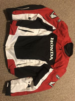Honda Motorcycle Jacket XXL for Sale in Springfield, PA