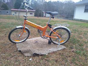 Folding adult bike. for Sale in Riverdale, GA