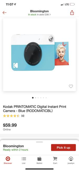 Digital Instant Print Camera for Sale in Minneapolis, MN