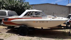 19(76 16 ft Glastonbury sport consider was damaged in accident but being repaired water ready soon for Sale in French Camp, CA