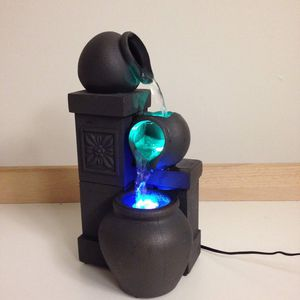 Color changing lights water fountain for Sale in Rancho Santa Margarita, CA