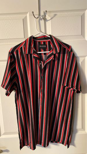 stripped button up large for Sale in Apache Junction, AZ