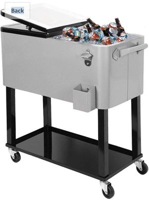 New Clevr Outdoor 80quart Party Portable Rolling Cooler Ice Chest for Sale in Norwalk, CA