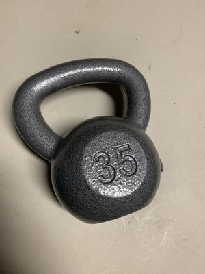 Kettlebell 35lb by Cap Brand New for Sale in Laveen Village, AZ