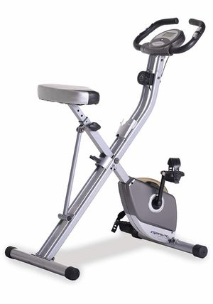Exerpeutic Folding Magnetic Upright Exercise Bike with Pulse for Sale in The Bronx, NY