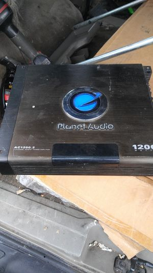 Planet audio 1200watt 2 channel amp for Sale in Pomona, CA