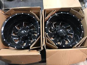 """20"""" Fuel Cleaver Ford Dually wheels for Sale in Corona, CA"""