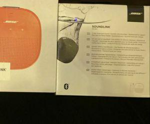 Bose speaker soundlink for Sale in Hixson, TN