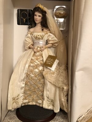 Aleksandra, Franklin Mint Winter Bride Doll for Sale in West Palm Beach, FL