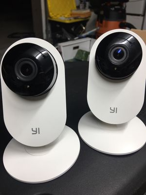 Yi Home Security cameras (2) for Sale in Carson, CA