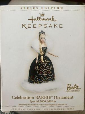 Hallmark Keepsake 2006 Celebration Barbie Ornament by Bob Mackie for Sale in Saint CLR SHORES, MI