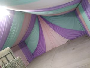 Draping carpas mesas sillas calentones for Sale in Compton, CA
