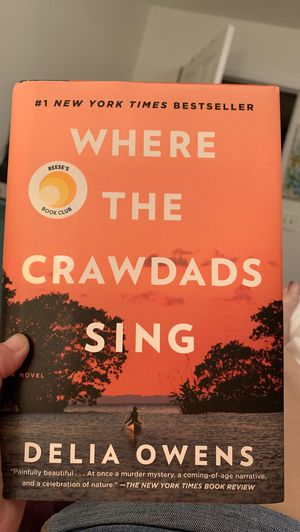 Where the crawdads sing hard cover for Sale in Fort Lauderdale, FL
