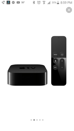 Apple TV 32G With Remote, hdmi cable, and power cable for Sale in Kearns, UT
