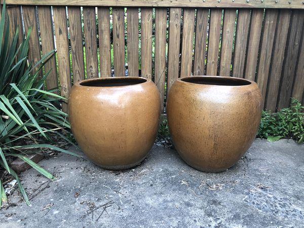 Porcelin tree planter pots