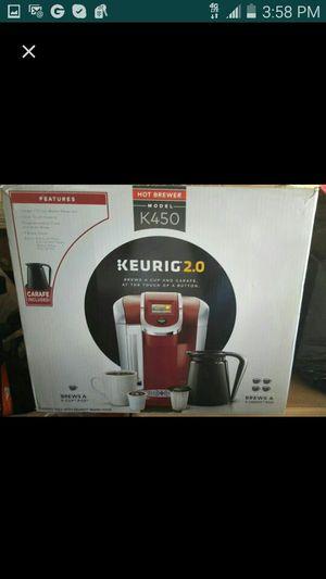 Keurig 2.0 coffee maker model k450 for Sale in Lawndale, CA