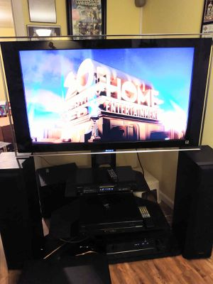 Stand...tv... receiver.. dvd/cd... cd player for Sale in St. Louis, MO
