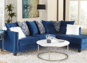 Blue Sectional for Sale in Atlanta,  GA